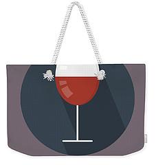 Wine Poster Print - It's Winesday Weekender Tote Bag