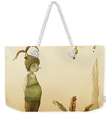 Wing-nut, Morning Bells Weekender Tote Bag
