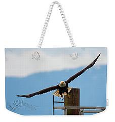 Wing Span Weekender Tote Bag
