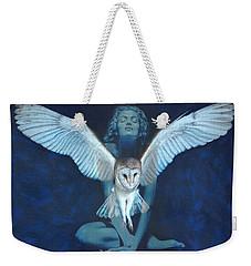 Winged Heart Weekender Tote Bag