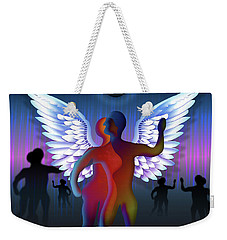 Winged Life Weekender Tote Bag by Rosa Cobos