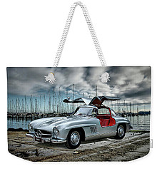 Winged Merc Weekender Tote Bag