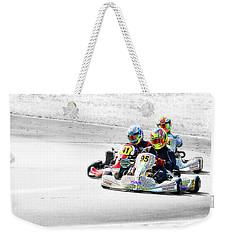 Wingham Go Karts 04 Weekender Tote Bag