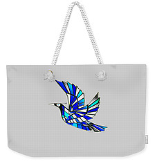 Weekender Tote Bag featuring the digital art Wings by Asok Mukhopadhyay