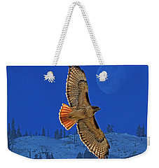 Wings Weekender Tote Bag by Donna Kennedy