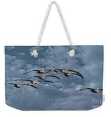Wings In Formation Weekender Tote Bag