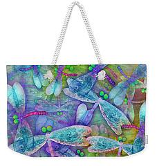 Wings Large In Square Format Weekender Tote Bag by Teresa Ascone