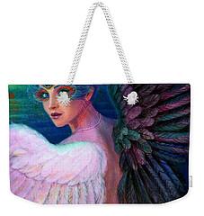 Wings Of Duality Weekender Tote Bag