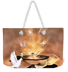Wings Of Magic Weekender Tote Bag