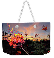 Wings Of Paradise Weekender Tote Bag