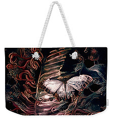 Wings Of The Night Weekender Tote Bag by Susan Maxwell Schmidt