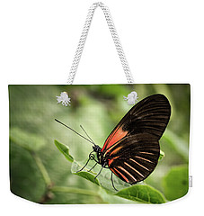 Wings Of The Tropics Butterfly Weekender Tote Bag