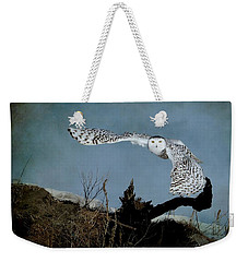 Wings Of Winter Weekender Tote Bag