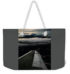 Wings Over Rainier Weekender Tote Bag