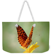 Wings Up - Butterfly Weekender Tote Bag by MTBobbins Photography