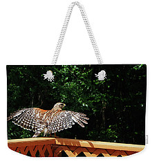 Wingspan Of Hawk Weekender Tote Bag