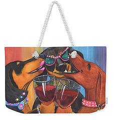 Wining Wieners Weekender Tote Bag