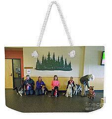 Weekender Tote Bag featuring the photograph Winners Circle by Fred Stearns