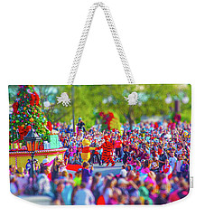 Weekender Tote Bag featuring the photograph Winnie The Pooh And Tigger by Mark Andrew Thomas