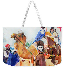 Winning Celebration Weekender Tote Bag by Khalid Saeed