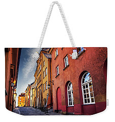 Weekender Tote Bag featuring the photograph Winsome Warsaw  by Carol Japp