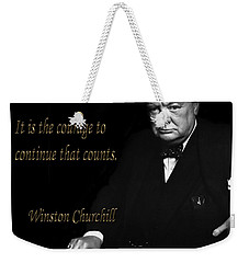 Winston Churchill 1 Weekender Tote Bag