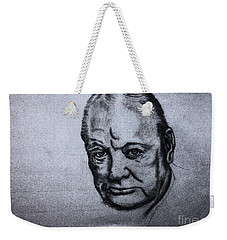 Winston Churchill  Weekender Tote Bag