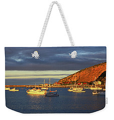 Weekender Tote Bag featuring the photograph Winter Afternoon Sun At Friendly Bay by Nareeta Martin