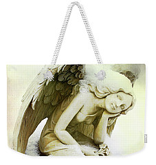 Winter Angel Weekender Tote Bag