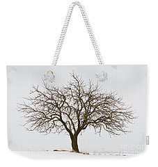 Winter Apple Tree Weekender Tote Bag