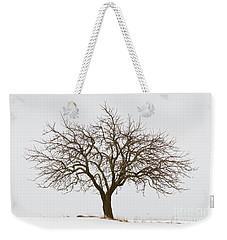Winter Apple Tree Weekender Tote Bag