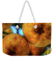 Winter Apples 2 Weekender Tote Bag