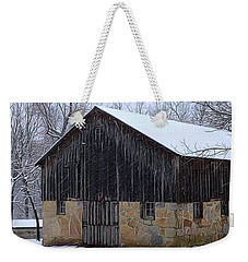 Winter Arrival Weekender Tote Bag