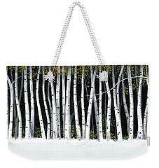 Winter Aspens II Weekender Tote Bag