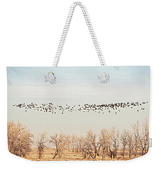 Winter At Arsenal Weekender Tote Bag