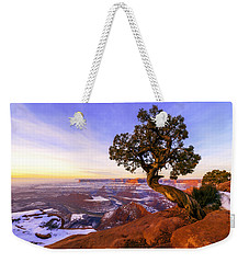 Winter At Dead Horse Weekender Tote Bag