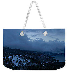 Winter At Diamond Peak Weekender Tote Bag by Sean Sarsfield