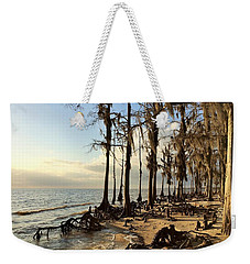 Winter At Fontainebleau State Park, Lake Pontchartrain, La Weekender Tote Bag