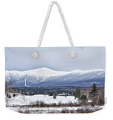 Winter At Mount Washington Weekender Tote Bag