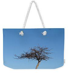 Winter At The Crabapple Tree Weekender Tote Bag