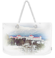 Winter At The Mt Washington Hotel 2 Weekender Tote Bag