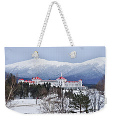 Winter At The Mt Washington Hotel Weekender Tote Bag