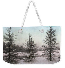 Winter Begins Weekender Tote Bag