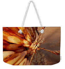 Weekender Tote Bag featuring the photograph Winter Berries by Keith Elliott