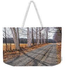 Winter Birches Weekender Tote Bag
