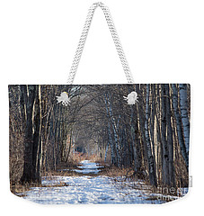 Winter Bliss Weekender Tote Bag
