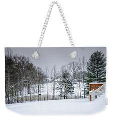 Blizzard Beauty Weekender Tote Bag