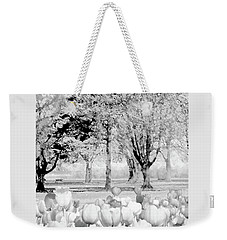 Winter Blooms Weekender Tote Bag by Ann Johndro-Collins