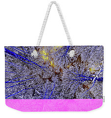 Weekender Tote Bag featuring the photograph Winter Blues by Tony Beck