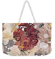 Winter Bouquet Weekender Tote Bag by Nancy Kane Chapman